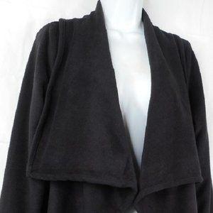 Croft Barrow PM Black Fleece Long Sleeve Cardigan